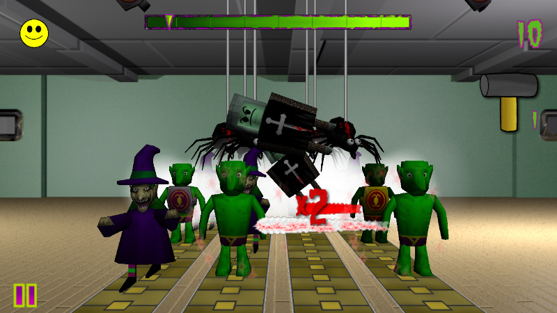 Hordz Face Defense 3D- screenshot