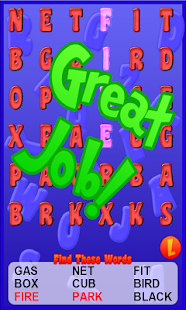 Word Search For Kids Free- screenshot thumbnail