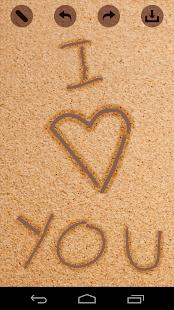 Draw In Sand - Beach Art