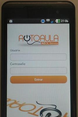Autoaula AEOLservice - screenshot