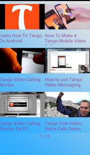 Tango Free Tips