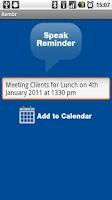 Screenshot of Rembr Lite - Voice to Calendar