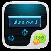 GO SMS PRO FUTUREWORLD THEME