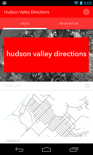 Hudson Valley Directions