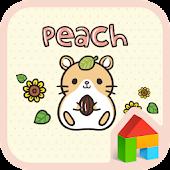 peach sunflower dodol theme