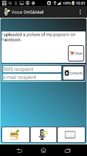 SMS & Mail by Voice - náhled