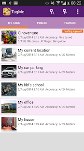 GPS Location Tagging - TagMe- screenshot thumbnail