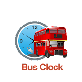 London Bus Clock