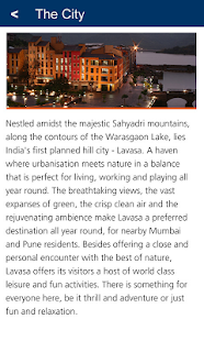Lavasa City Guide- screenshot thumbnail