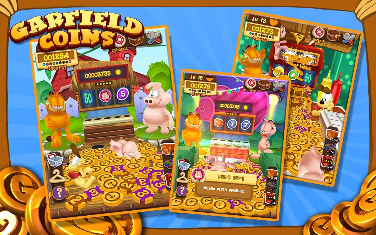 Garfield Coins - screenshot