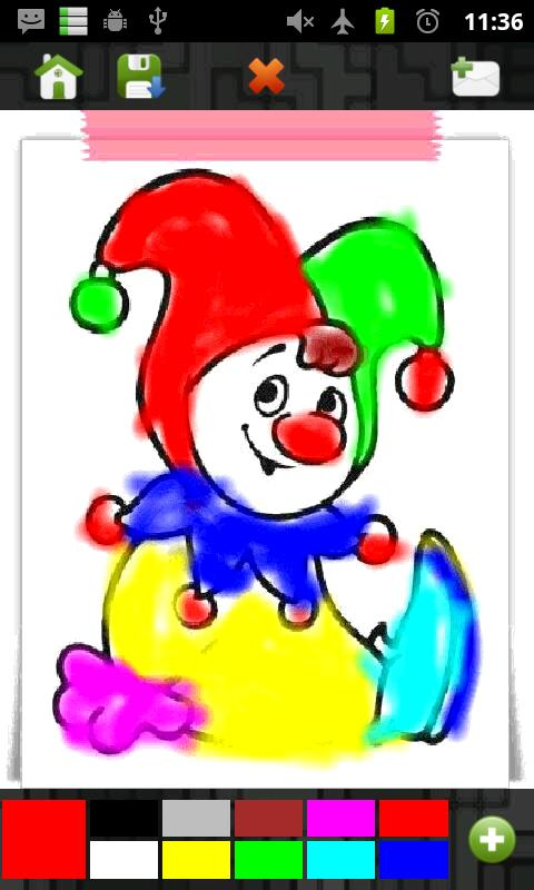 Kids Painter (LG Ranking 8)- screenshot