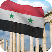 3d Syria Flag with Anthem LW