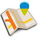 Map of Dnipro (Dnipropetrovsk) offline icon