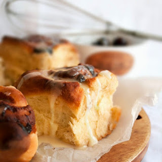 Chocolate Cherry Breakfast Buns Recipe