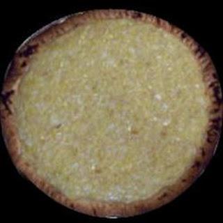 Amish Sauerkraut Surprise Custard Pie
