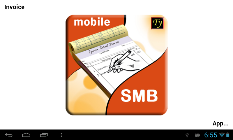 Online Receipt Of Lic Premium Excel Tycoon Smbinvoiceposbilling  Android Apps On Google Play Invoice Template Libreoffice with Digitize Receipts Excel Tycoon Smbinvoiceposbilling Screenshot Difference Between Invoice And Bill Excel