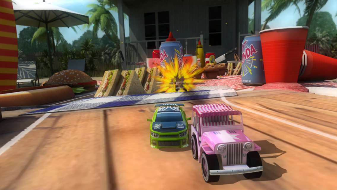 Table Top Racing Free- screenshot