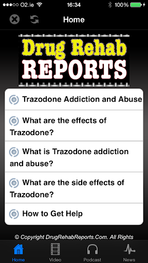 Trazodone Addiction Abuse