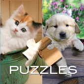 Kitten and Puppy Puzzles