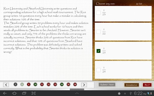iPrep: Advanced Math - screenshot thumbnail