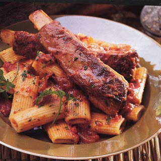 Braised Spareribs with Rigatoni