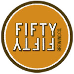 Logo of FiftyFifty Eclipse Stout - High West Bourbon (Tangerine Wax) 2015