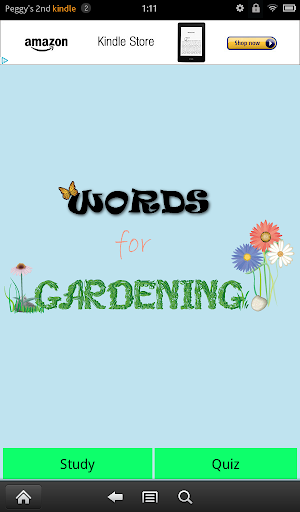 Words for Gardening