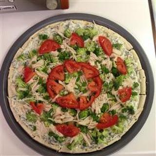 No Bake Pizza Appetizer