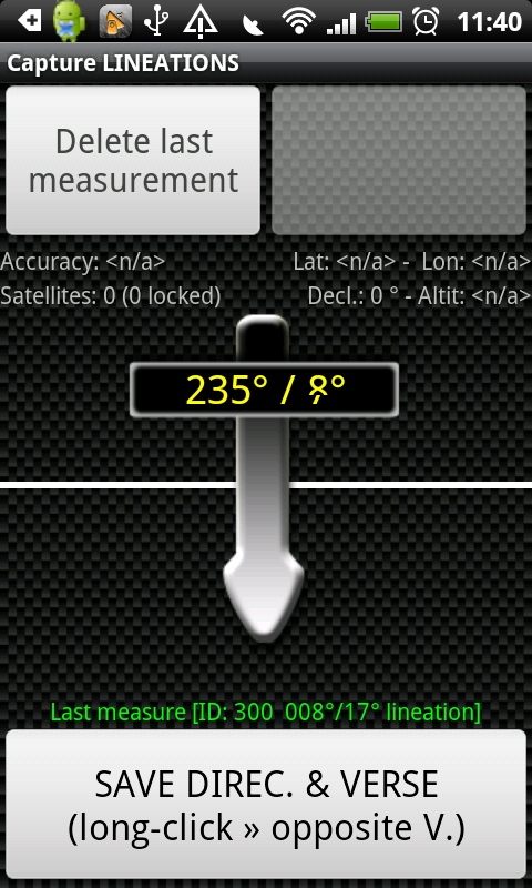 eGEO Compass Pro by IntGeoMod- screenshot