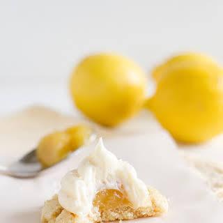 Lemon Marshmallow Cookies.