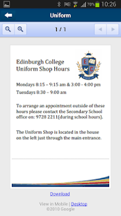 Edinburgh College - náhled