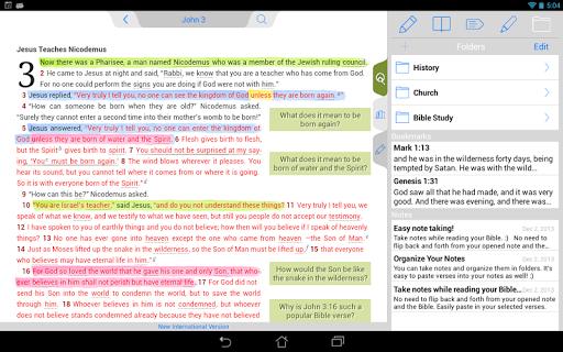 【免費書籍App】NIV Quest Study Bible-APP點子
