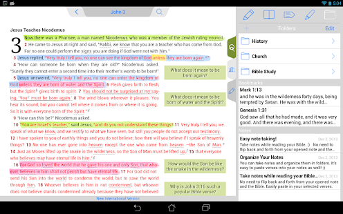 NIV Quest Study Bible- screenshot thumbnail