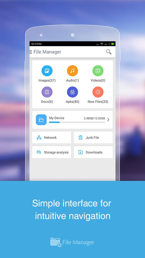 CM FILE MANAGER Screenshot 1