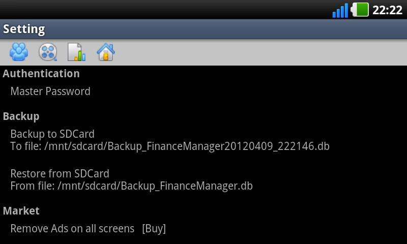 Hoasung Expense Manager- screenshot