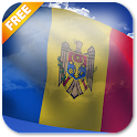 3D Moldova Flag icon