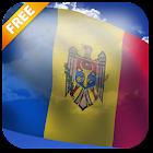 3D Moldova Flag Live Wallpaper icon