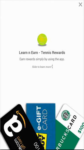 Tennis: Earn n Learn