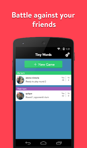 Tiny Words Game