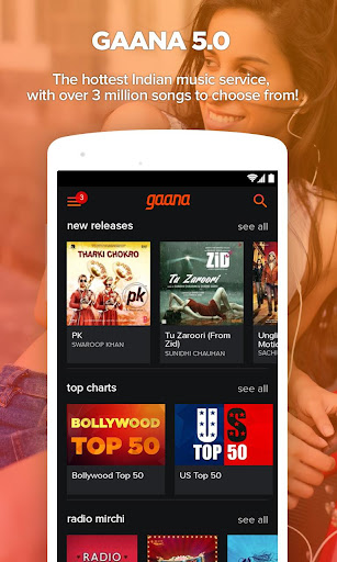 Gaana: Bollywood Hindi Songs