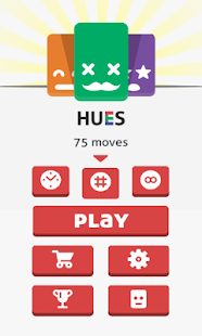 Hues Game - 4x4 card matching!- screenshot thumbnail
