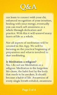 Self Meditation screenshot