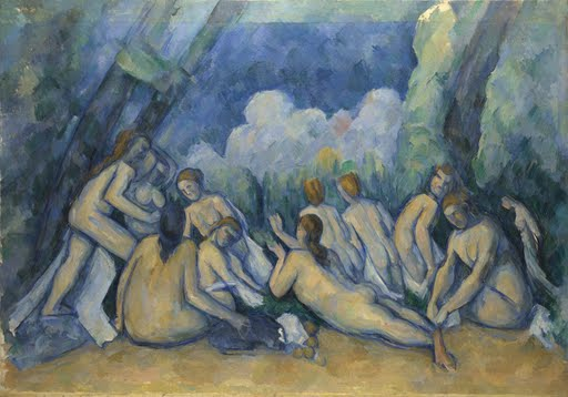 The Bathers by Paul Cézanne