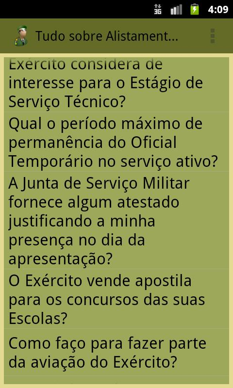 Brazilian Military Enlistment - screenshot