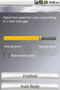 Safe Driver Text Response screenshot 0