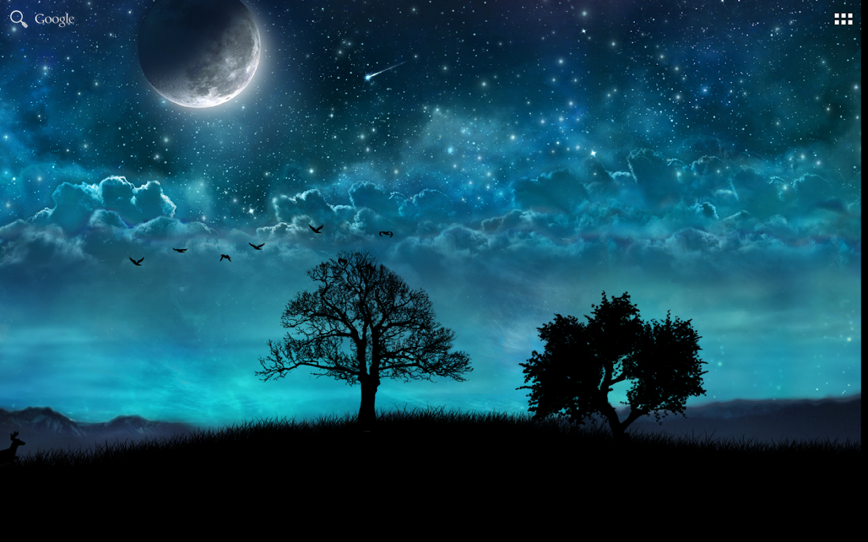 Dream Night Free LiveWallpaper - screenshot