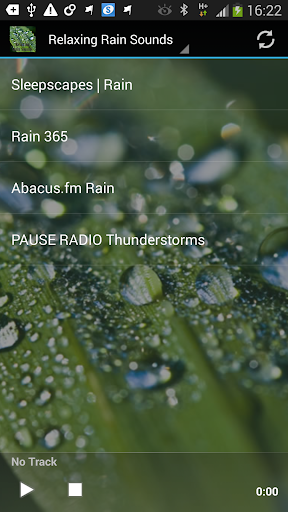 Relaxing Rain Sounds Radios