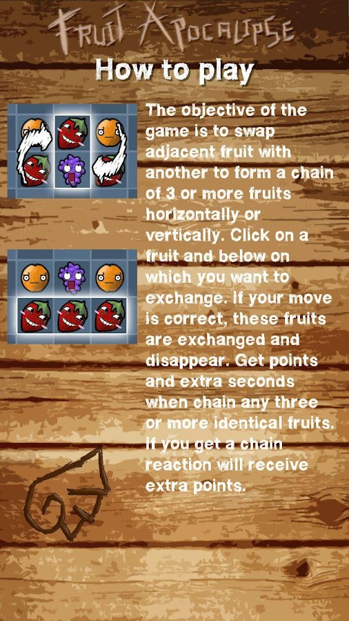 Fruit Apocalipse - screenshot