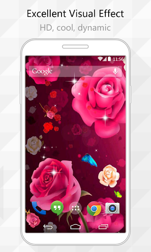 Dreamy Rose Live Wallpaper