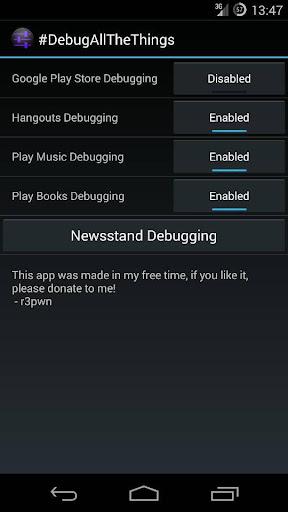 DebugAllTheThings for Root